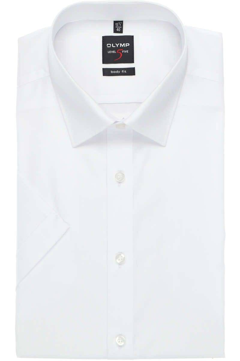 best authentic sale cheapest OLYMP Level Five Body Fit shirt white, One Colour