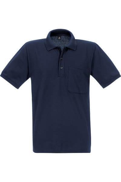 TRIGEMA Poloshirt - Comfort Fit - dunkelblau, Einfarbig