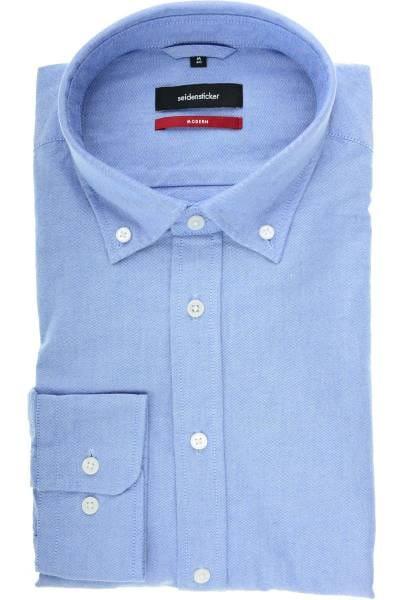 Seidensticker Modern Fit Hemd hellblau, Einfarbig