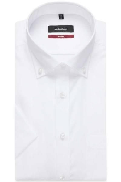 Seidensticker Hemd - Modern Fit - weiss, Einfarbig