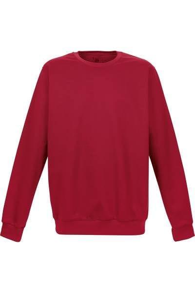 TRIGEMA Strick - Sweatshirt - rot