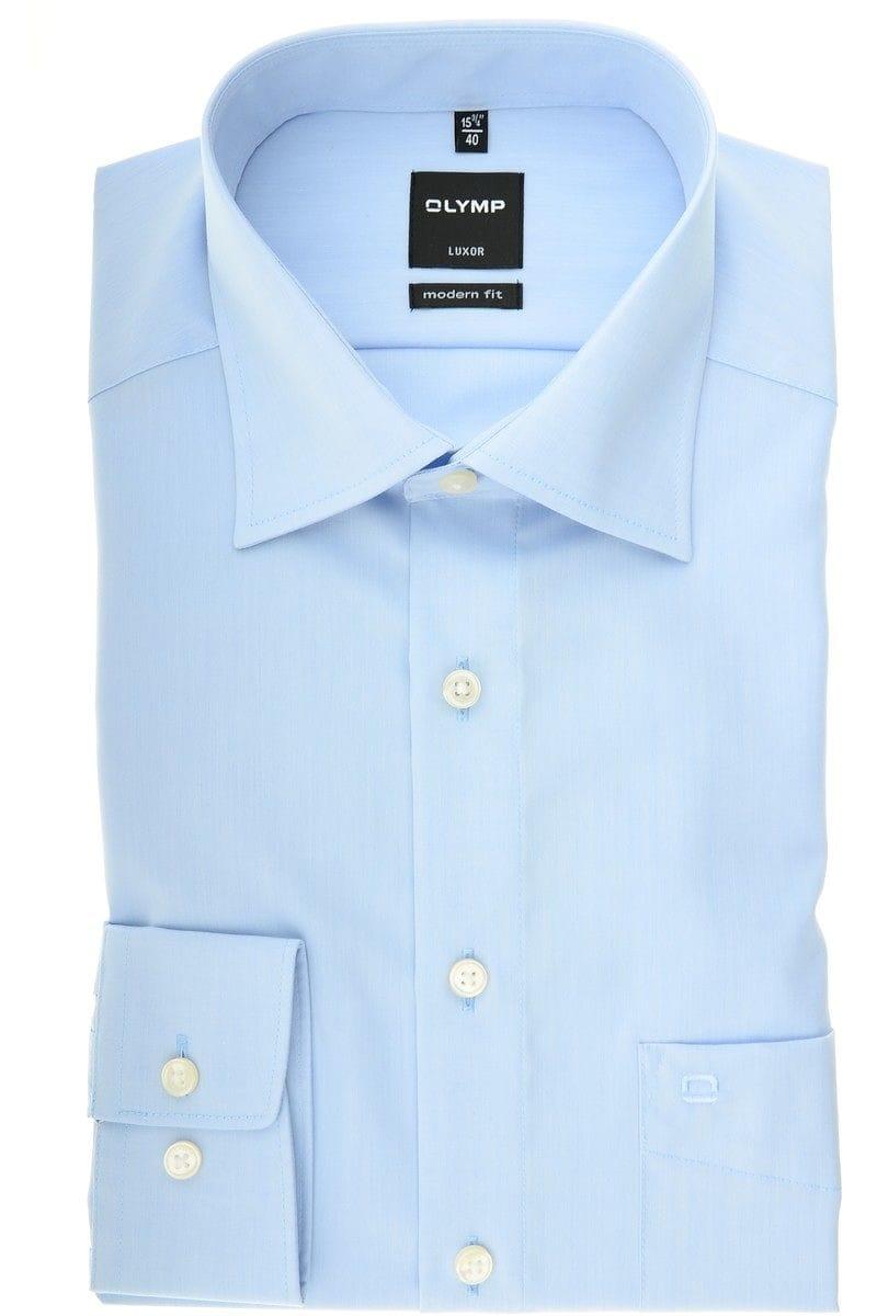 olymp slim line hemd in extra langer arm 72cm bleu. Black Bedroom Furniture Sets. Home Design Ideas