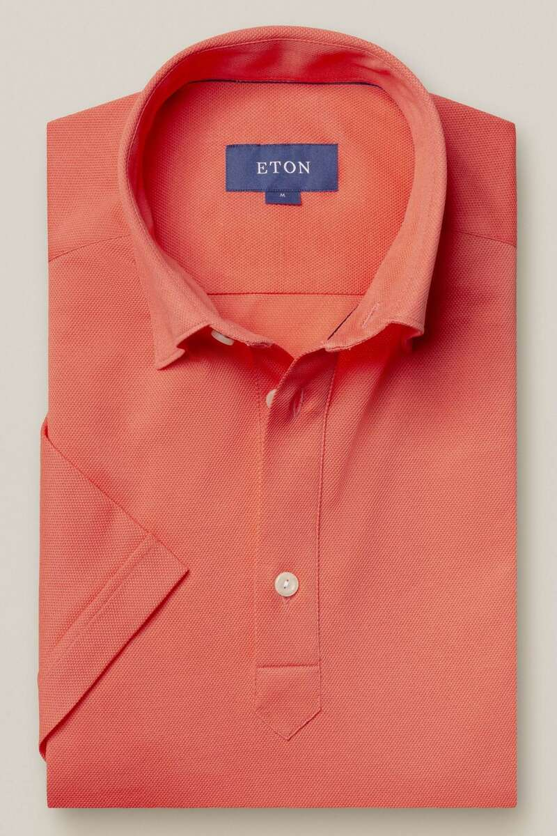 ETON Contemporary Fit Poloshirt koralle, Einfarbig M