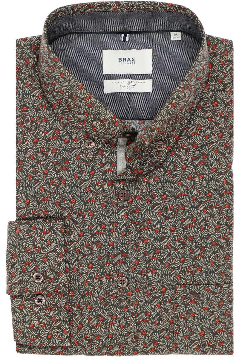 Brax Modern Fit Hemd mehrfarbig, Gemustert M