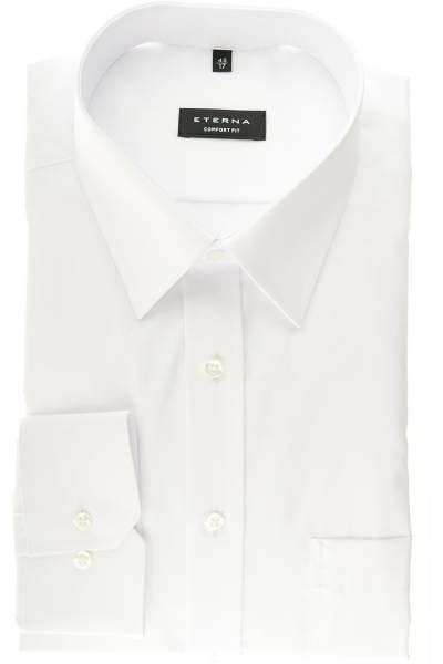 Eterna Comfort Fit - Hemd in Extra langer Arm (72cm), weiss ... 44241ec59d