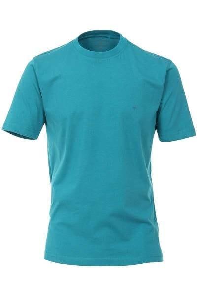 Casa Moda T-Shirt petrol, Einfarbig