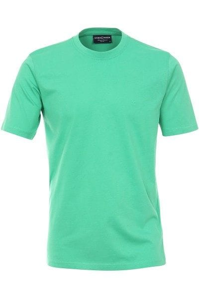 Casa Moda T-Shirt - Rundhals - grün, Einfarbig