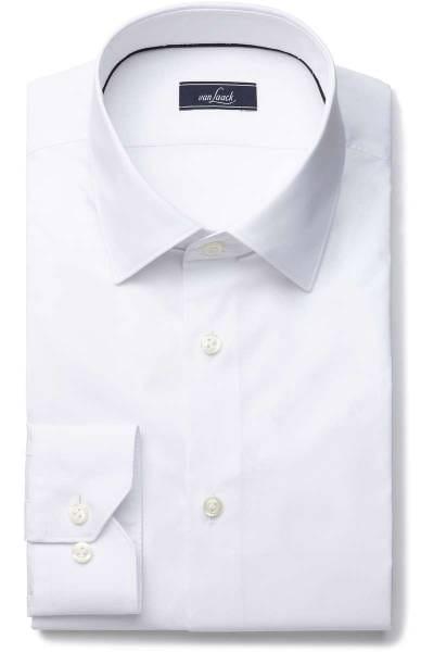 van Laack Super Slim Hemd weiss, Einfarbig