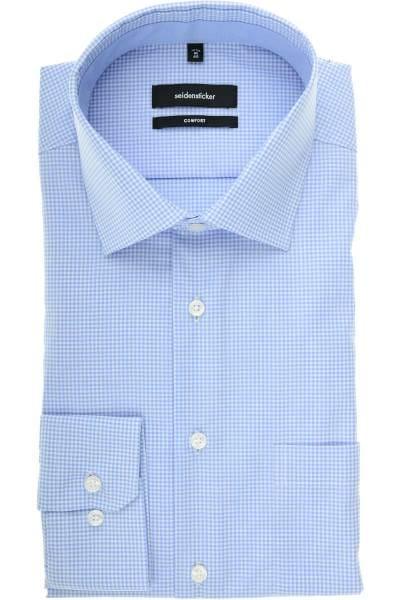 Seidensticker Comfort Fit Hemd hellblau, Streifen