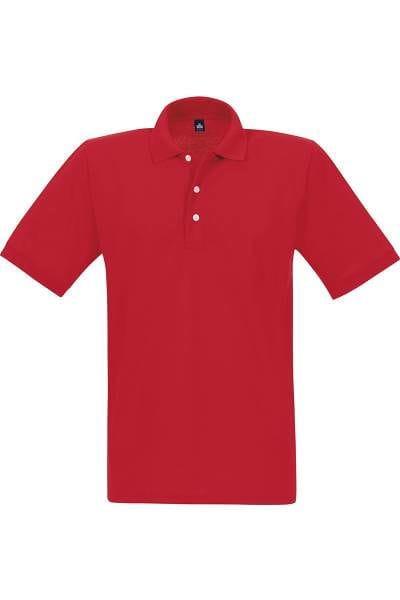 TRIGEMA Poloshirt - Comfort Fit - rot, Einfarbig