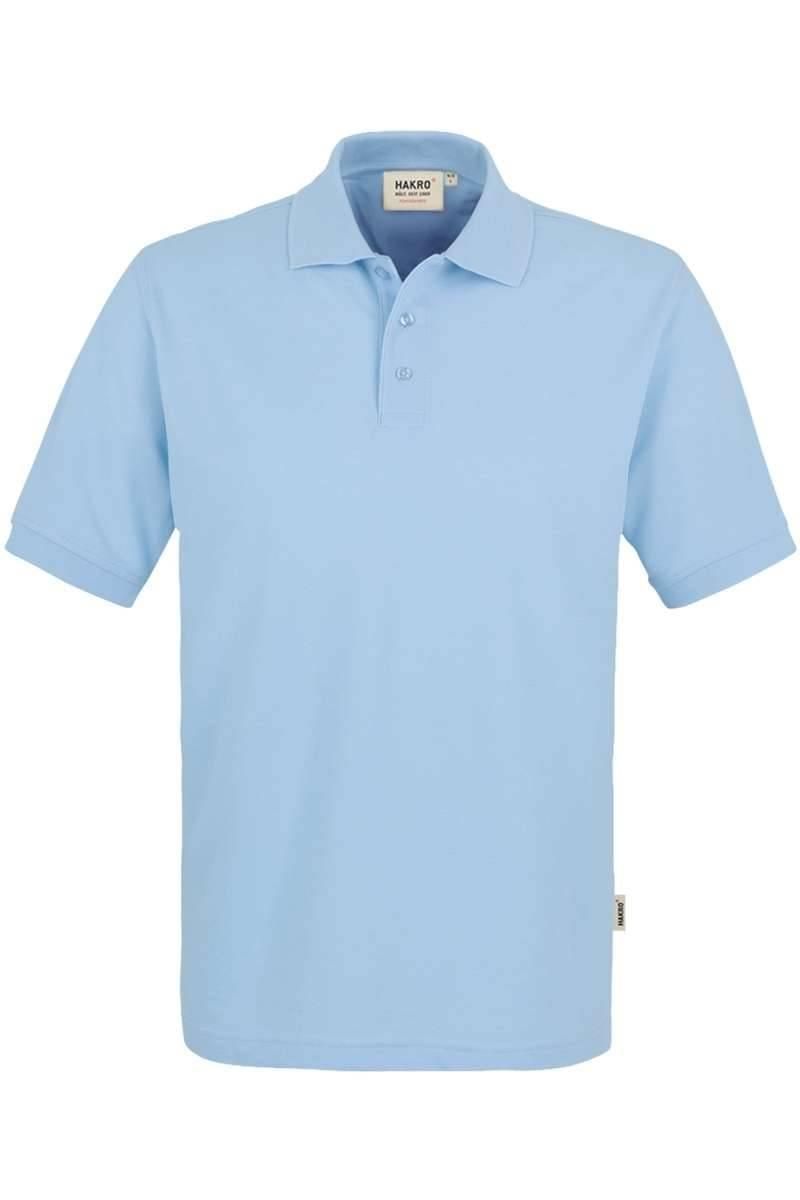 HAKRO Comfort Fit Poloshirt eisblau, Einfarbig