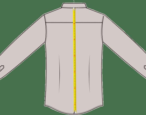 Hemdlänge messen
