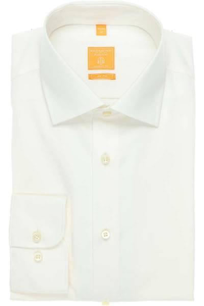 Redmond Modern Fit Hemd beige, Einfarbig