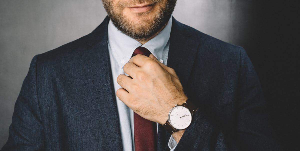 Hemden Krawattenknottenwahl