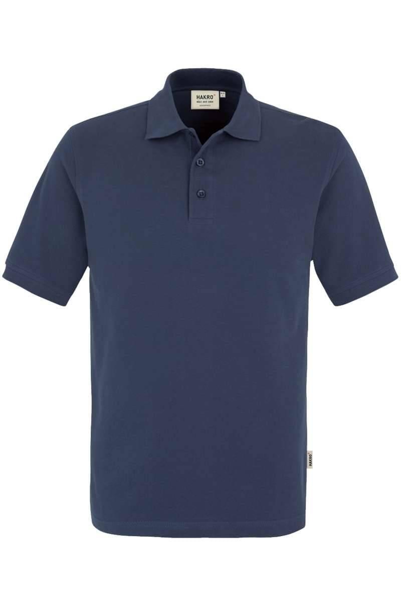 HAKRO Regular Fit Poloshirt jeansblau, Einfarbig