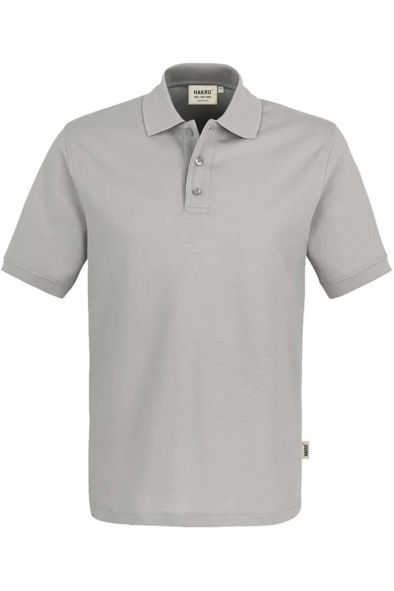 HAKRO Comfort Fit Poloshirt silber, Einfarbig