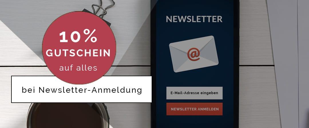 OLYMP Gutschein 10% Newsletter Anmeldung
