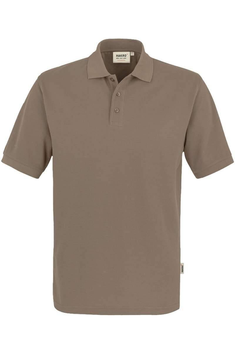 HAKRO Comfort Fit Poloshirt nougat, Einfarbig