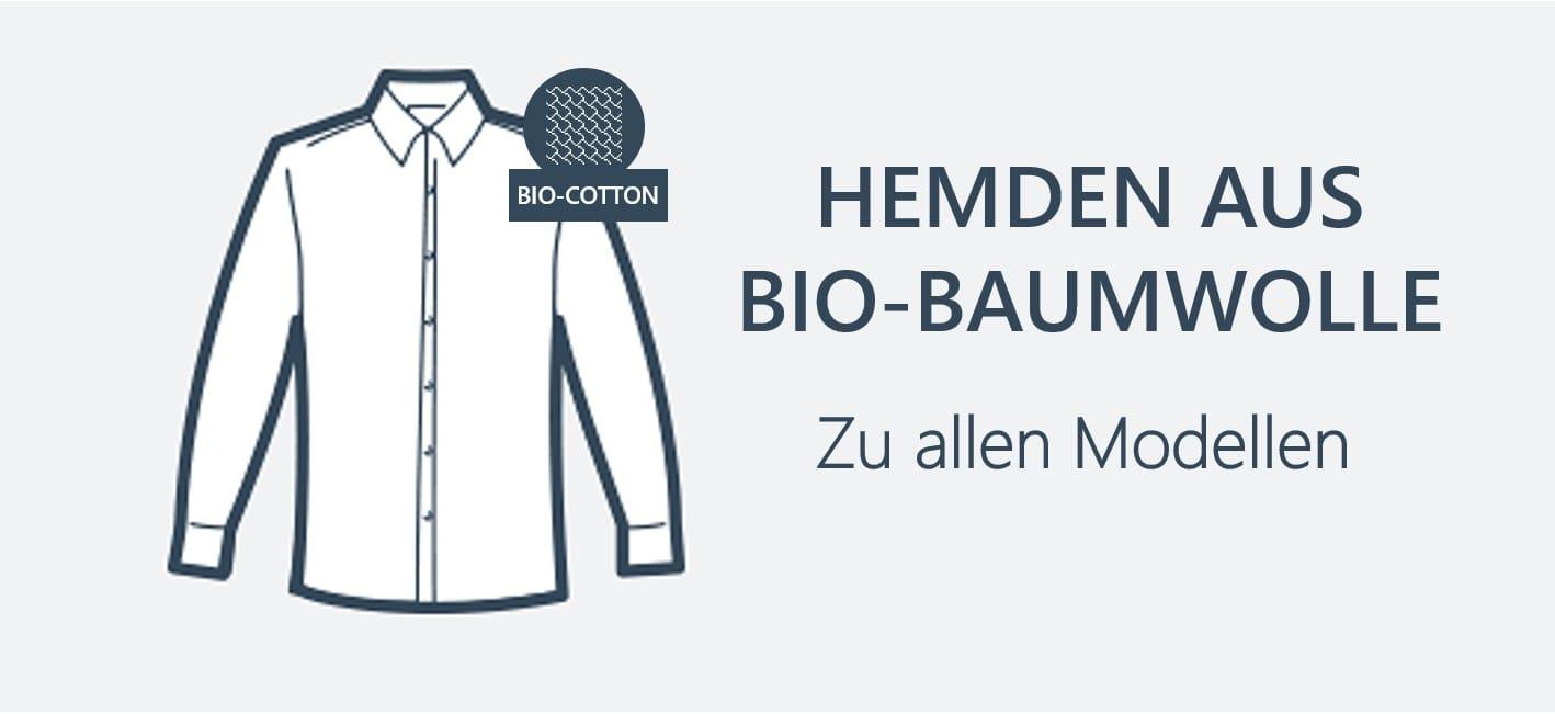 Nachhaltige Hemden aus Baumwolle