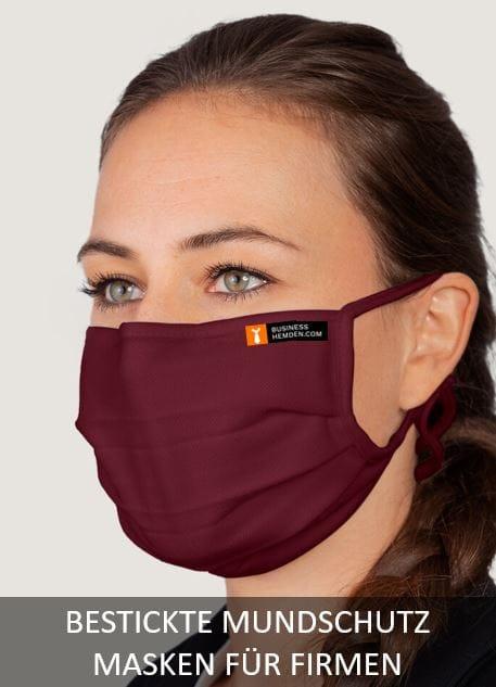 Mundschutz Masken für Firmen Bedruckung