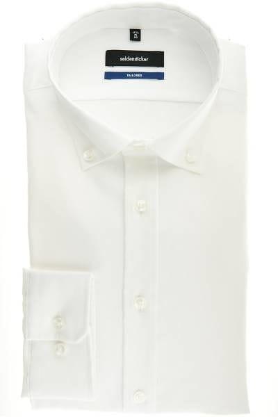 Seidensticker Hemd - Tailored - weiss, Einfarbig