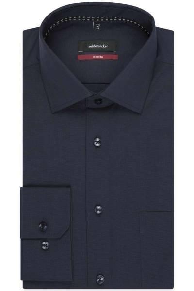Seidensticker Modern Fit Hemd anthrazit, Einfarbig