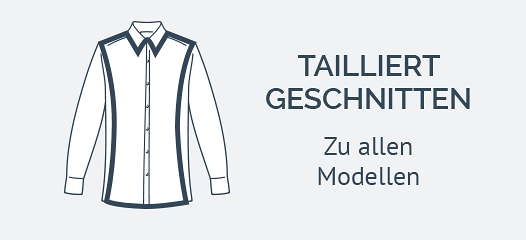Slim Fit Hemden mit Kentkragen