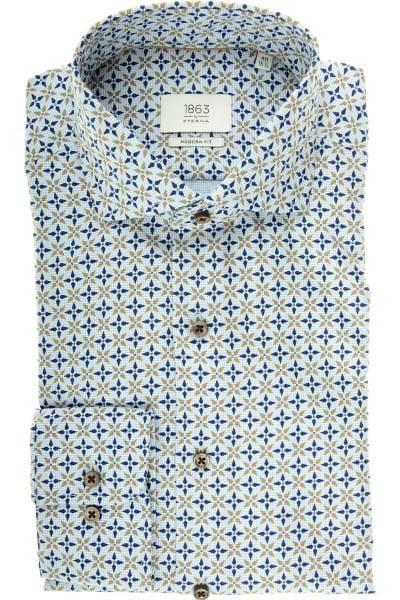 ETERNA 1863 Modern Fit Hemd mehrfarbig, Gemustert