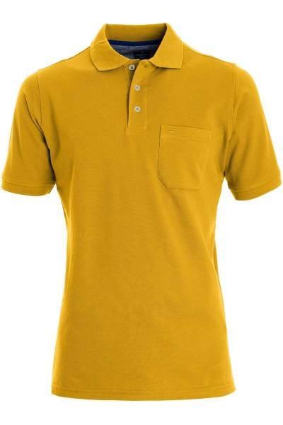 Redmond Casual Poloshirt messing, Einfarbig