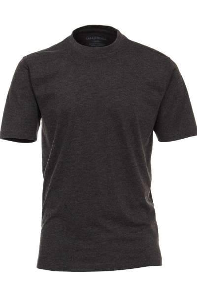 Casa Moda T-Shirt grau, Einfarbig