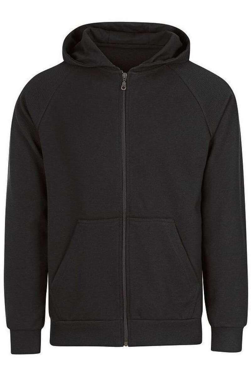 TRIGEMA Slim Fit Outdoor Jacke schwarz, einfarbig M