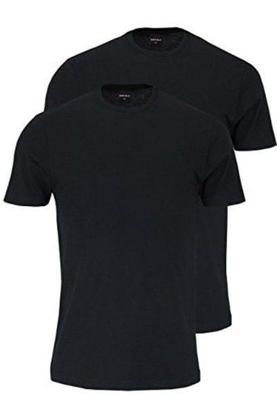 Marvelis T-Shirt - Rundhals - schwarz, Einfarbig