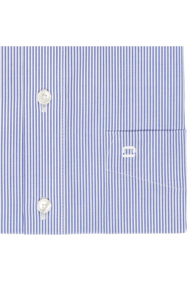 olymp slim line hemd in langarm 64cm blau weiss. Black Bedroom Furniture Sets. Home Design Ideas