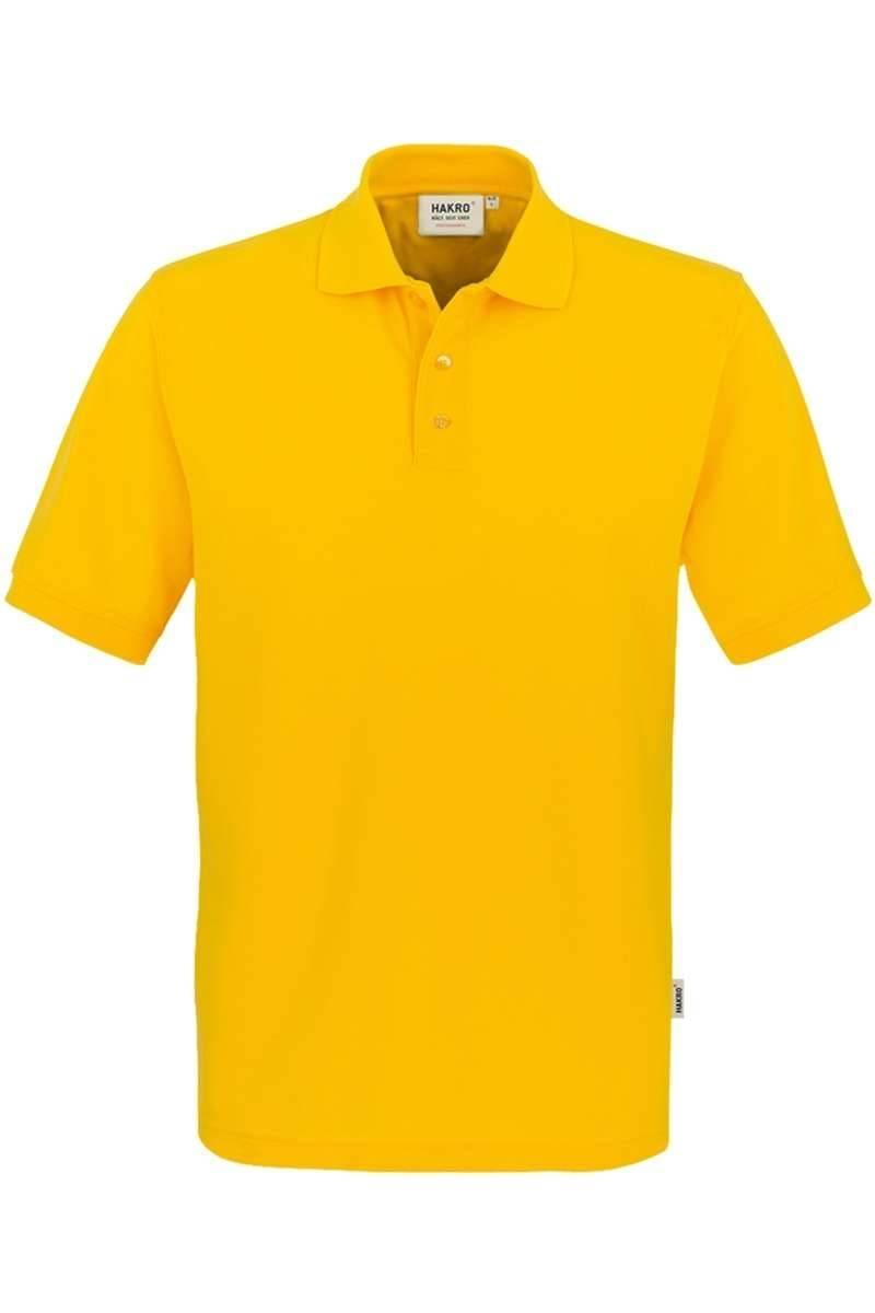 HAKRO Comfort Fit Poloshirt gelb, Einfarbig