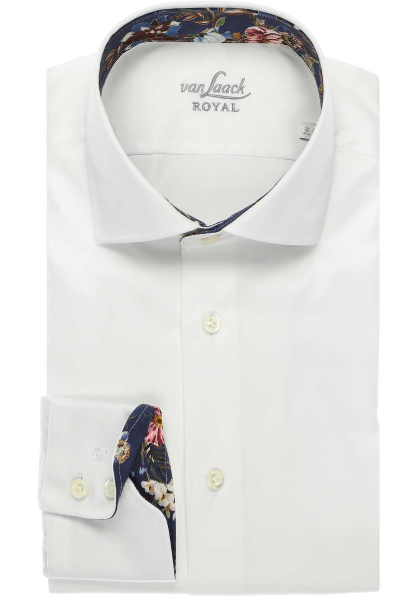 Van Laack Tailor Fit Hemd weiss, Einfarbig 39 - M