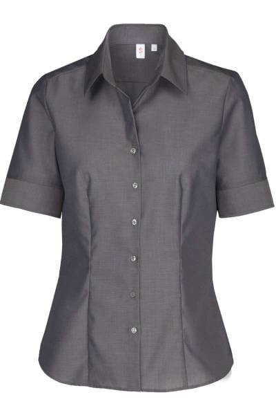 Seidensticker Bluse - graphit, Einfarbig