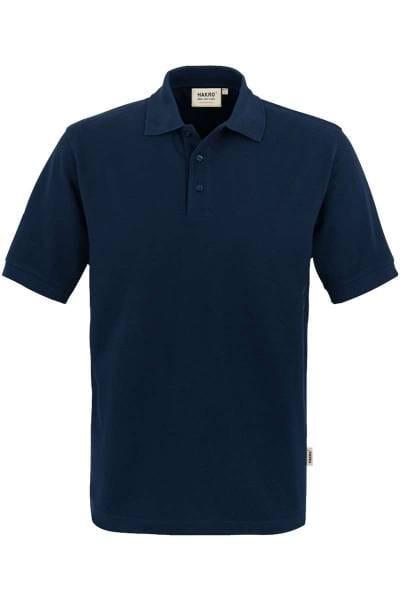 HAKRO Comfort Fit Poloshirt nachtblau, Einfarbig