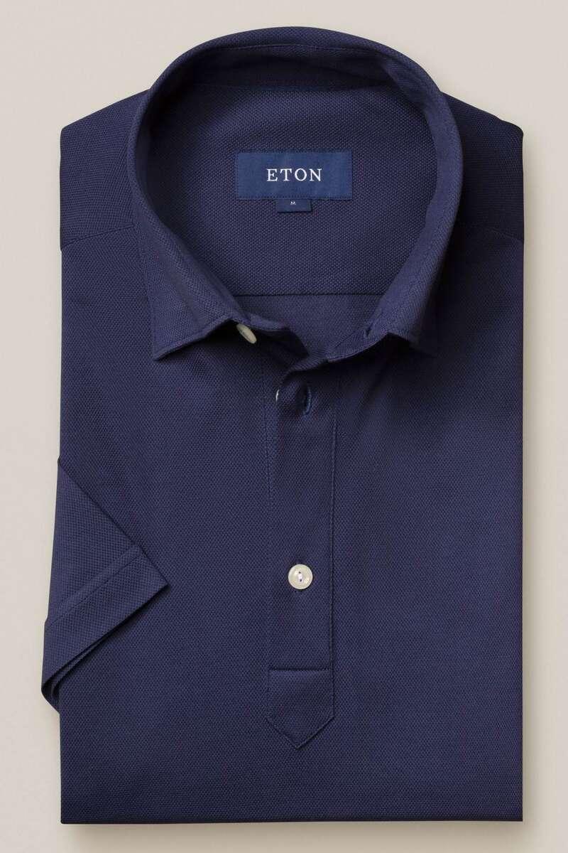 ETON Contemporary Fit Poloshirt blau, Einfarbig M