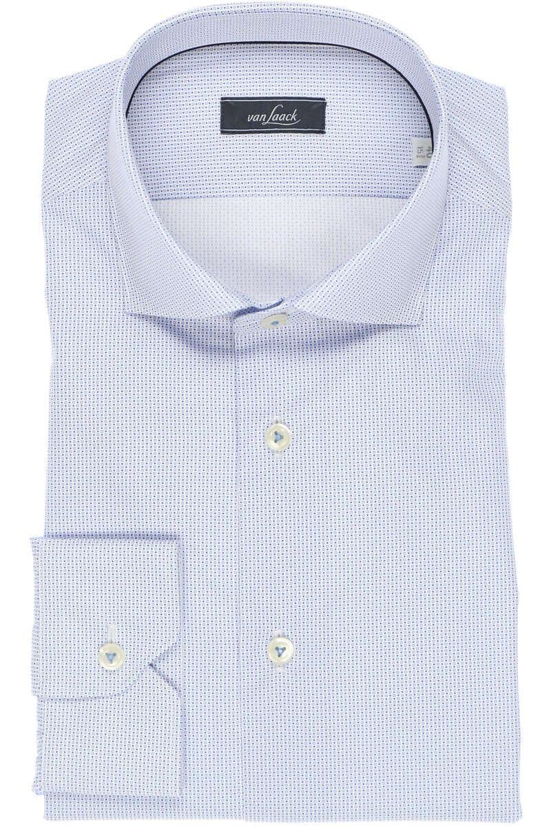Van Laack Tailor Fit Hemd blau/weiss, Gemustert 40 - M
