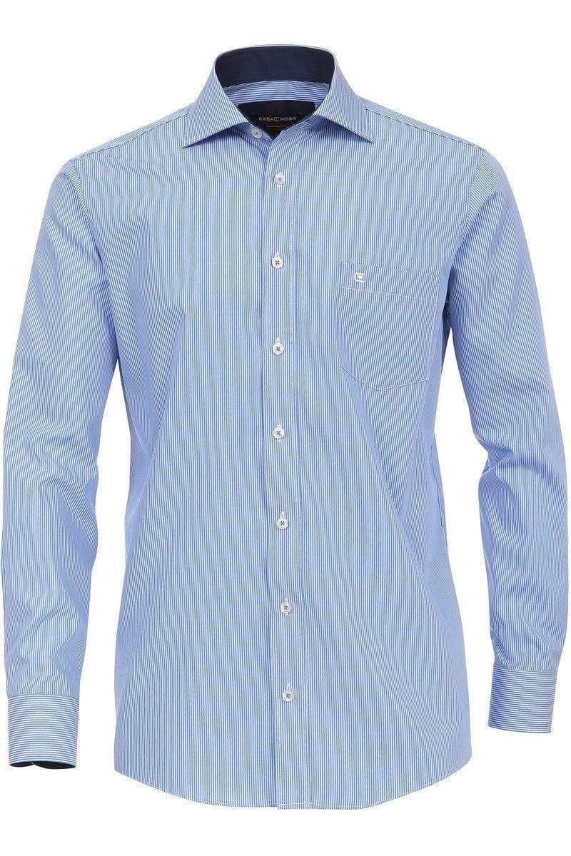 Casa Moda Hemd - Comfort Fit - blau/weiss, Gestreift