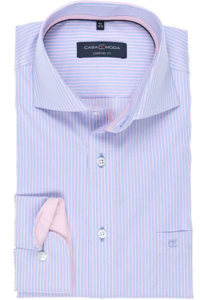 Casa Moda Comfort Fit Hemd blau/weiss, Gestreift