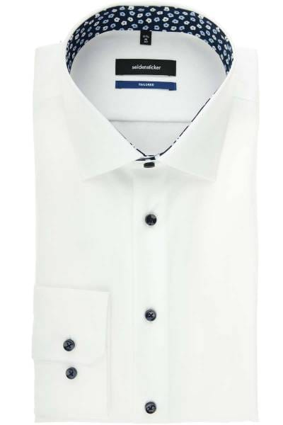 Seidensticker Tailored Hemd weiss, Einfarbig