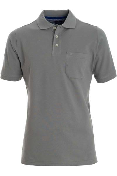 Redmond Casual Poloshirt grau, Einfarbig