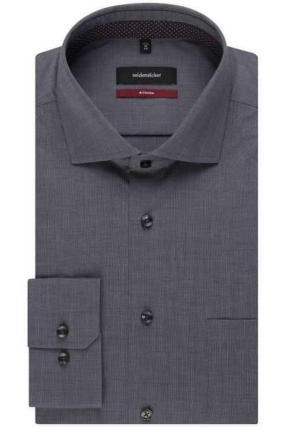 Seidensticker Modern Fit Hemd grau, Einfarbig