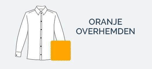 Oranje Overhemden