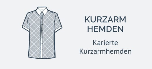 Karierte Kurzarmhemden