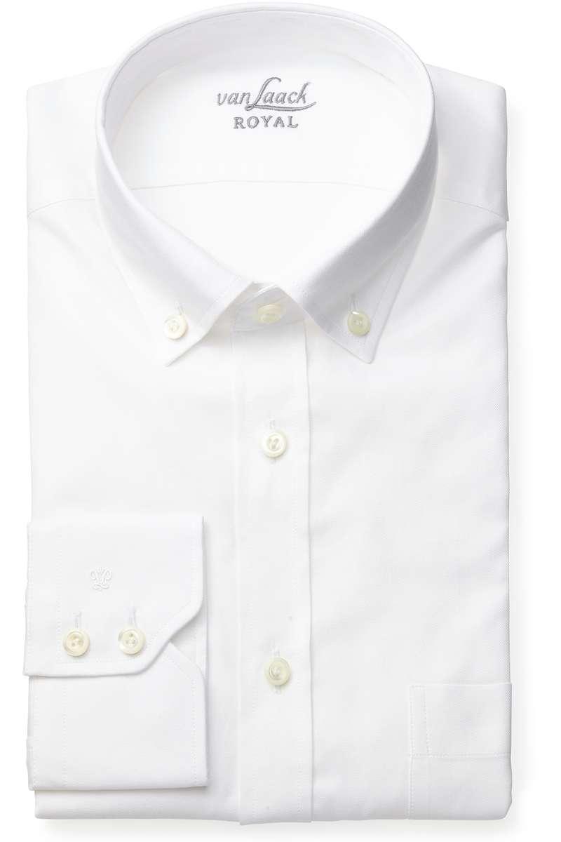 van Laack Hemd - Tailor Fit - weiss, Einfarbig 44 - XL