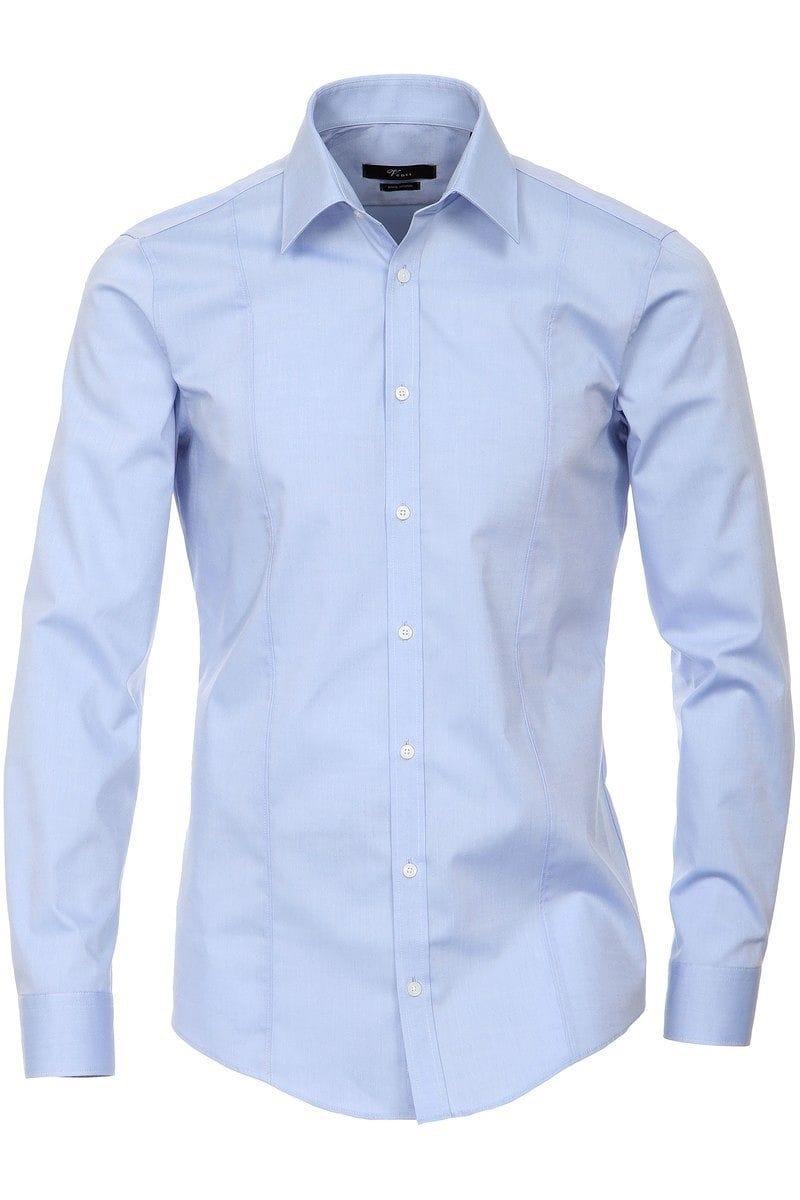 huge discount 100% quality authentic quality Venti Body Fit Hemd hellblau, Einfarbig