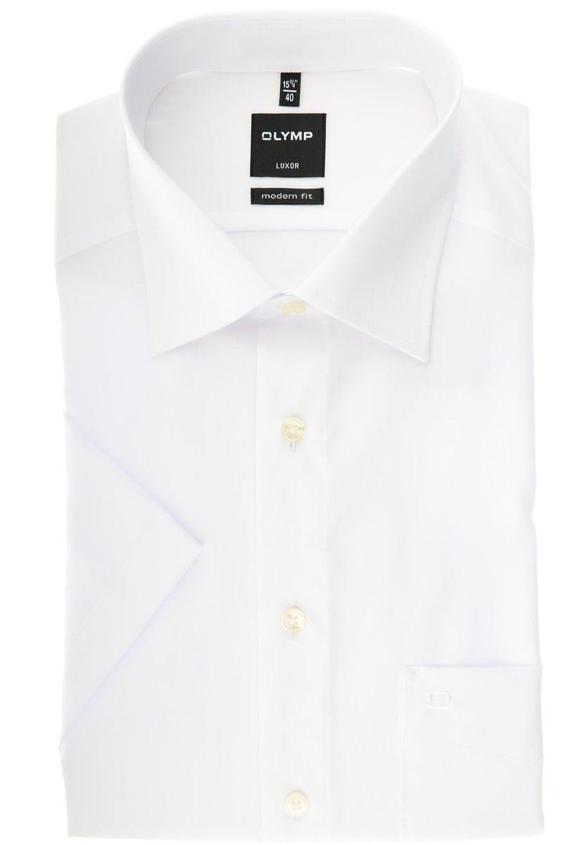 bda4fe55bb8f66 Olymp Slim Line - Shirt in Short Sleeve (4 ¾ inch)
