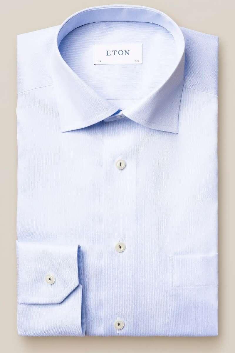 ETON Classic Fit Hemd hellblau, Einfarbig 42 - L